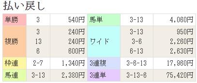 17福島記念払戻