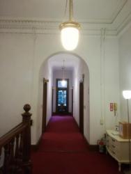 萬翠荘 2階廊下