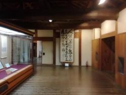 松山城内部