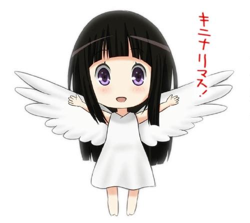 白バックの天使千反田えるちゃん