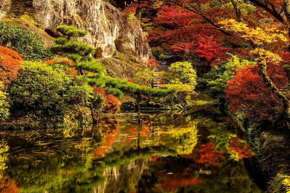2017.11.09那谷寺の紅葉.7
