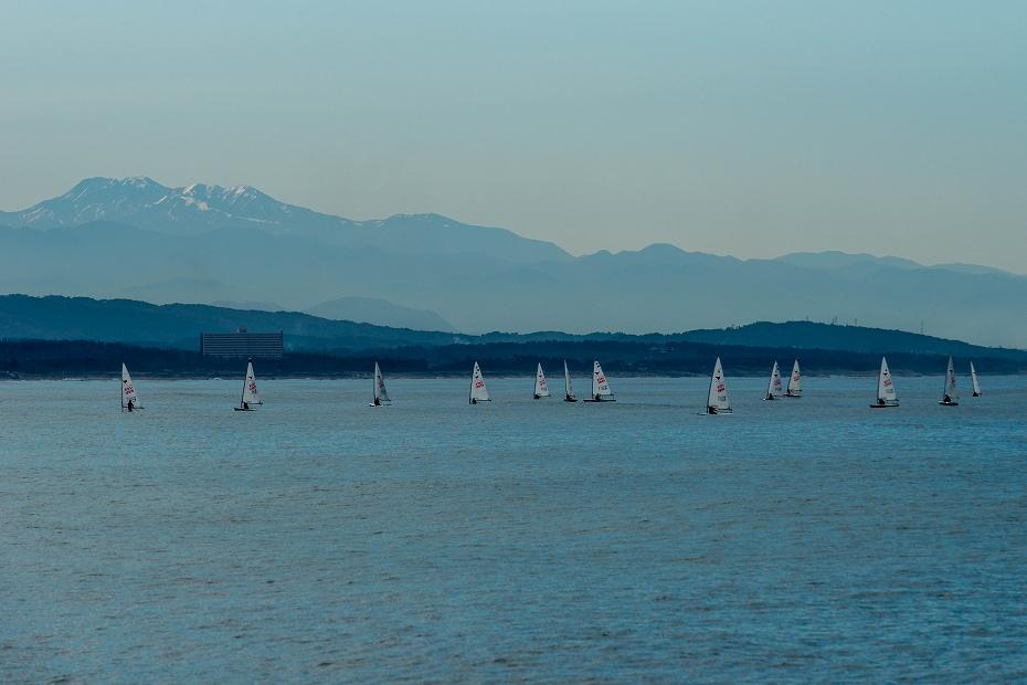 2017.11.10白山とヨット.2
