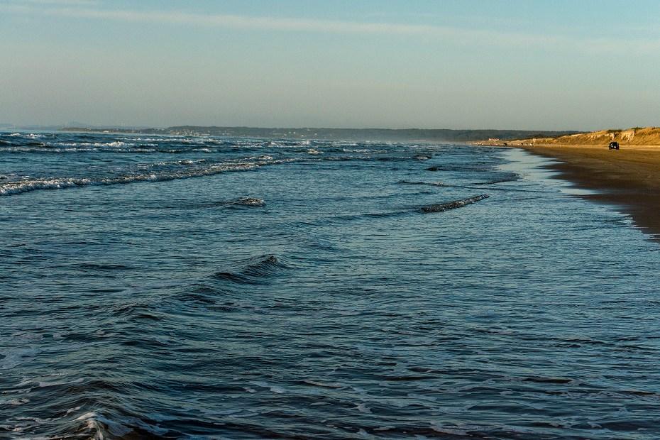 2017.11.10千里浜の夕景.2