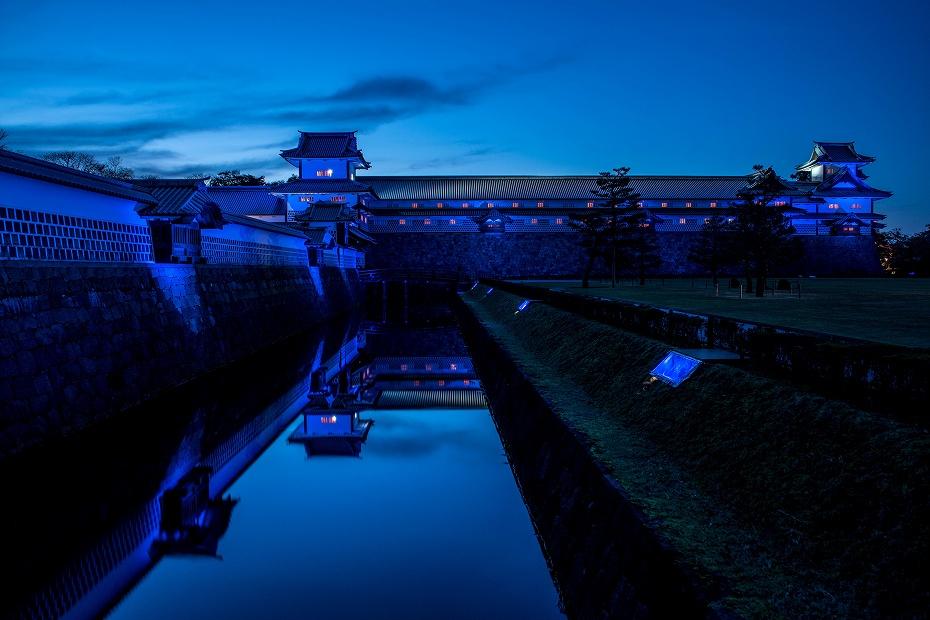 2017.11.17.金沢城ライトアップ.2