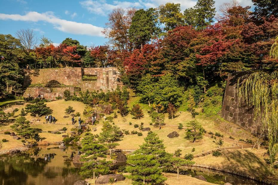 2017.11.21 金沢城の紅葉_2
