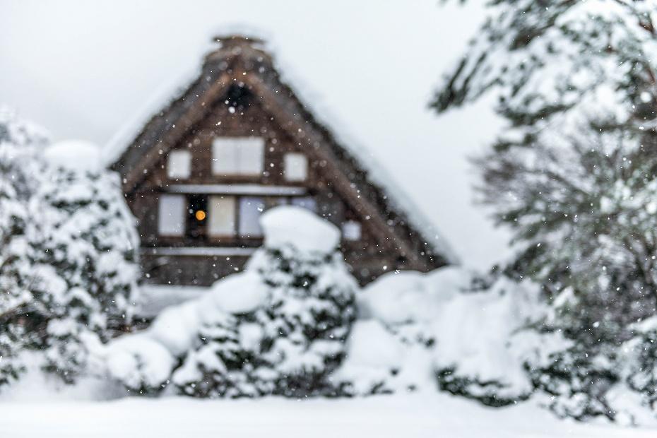 2017.12.13白川郷 降り続く雪 17