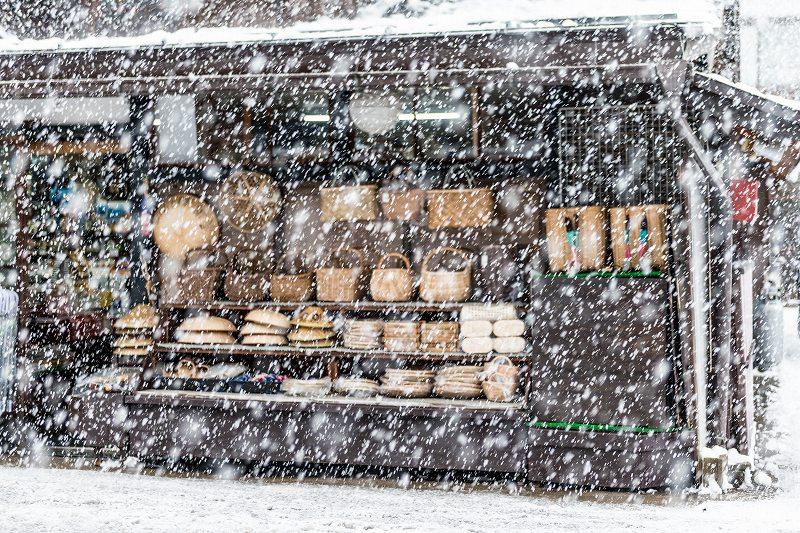 2017.12.13白川郷 降り続く雪 14