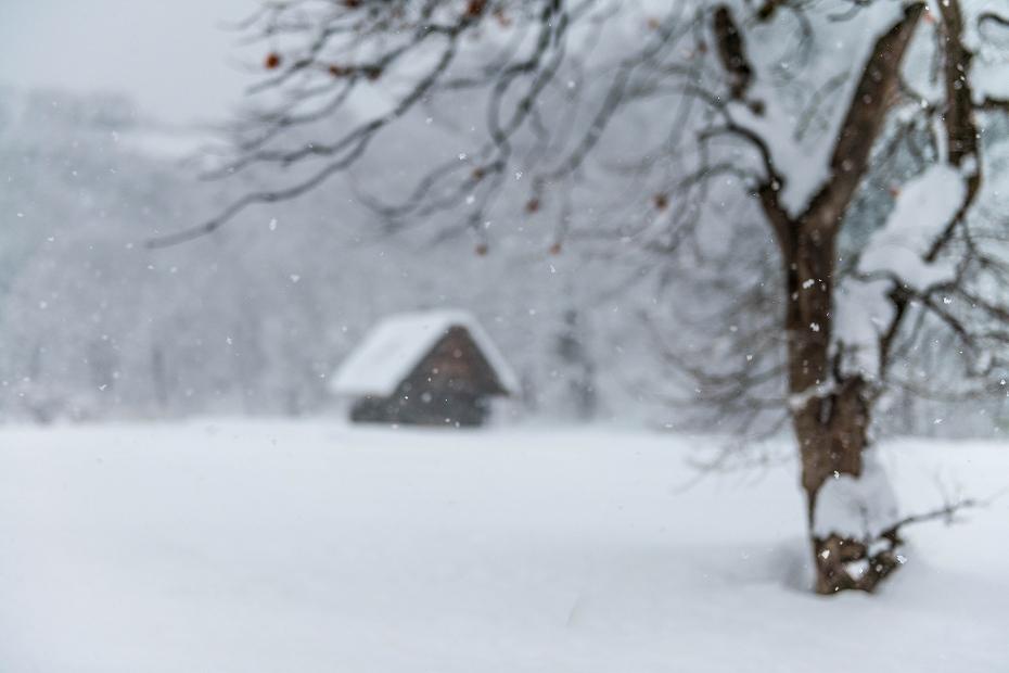 2017.12.13白川郷 降り続く雪 12