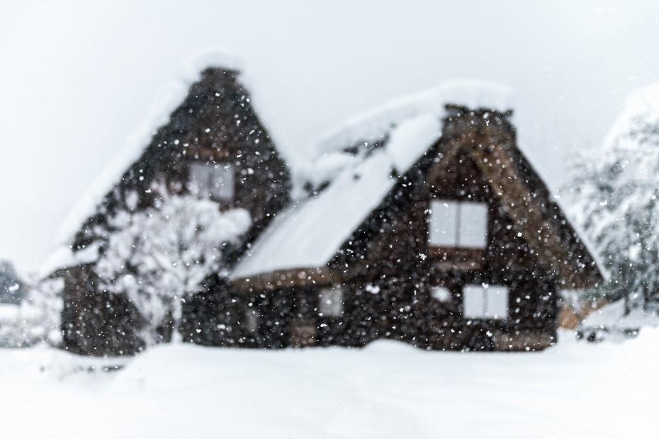 2017.12.13白川郷 降り続く雪 8