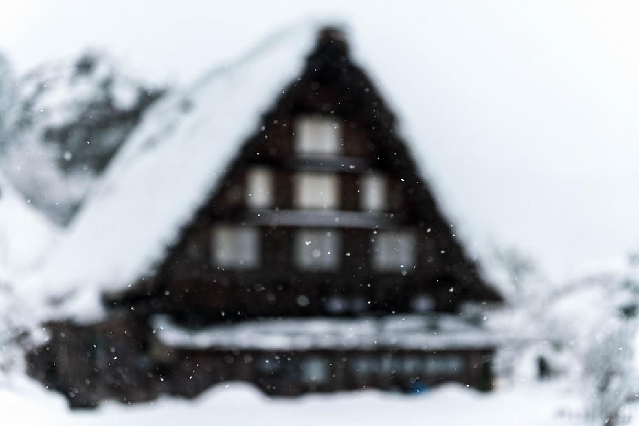 2017.12.13白川郷 降り続く雪 7