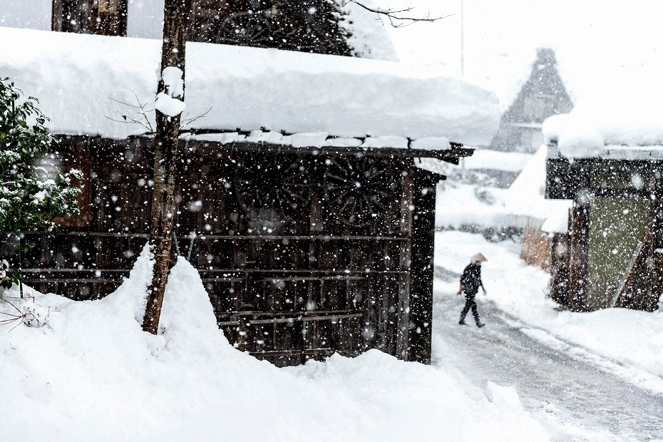 2017.12.13白川郷 降り続く雪 6