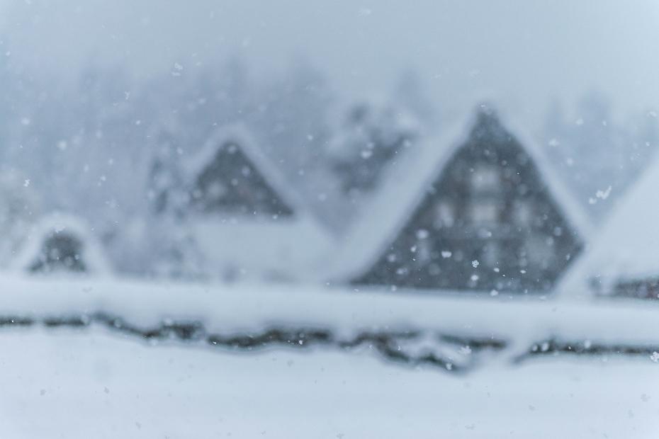 2017.12.13白川郷 降り続く雪 3