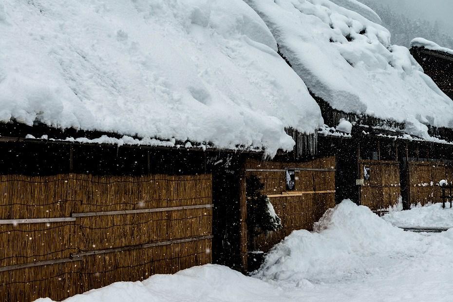 2017.12.13 白川郷の雪景色 4