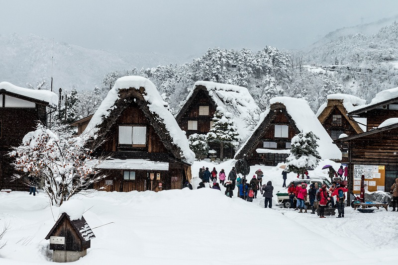 2017.12.13 白川郷の雪景色 6