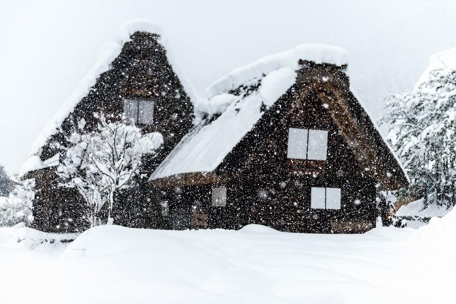 2017.12.13 白川郷の雪景色 2