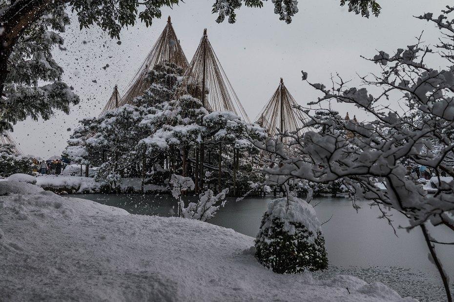 2017.12.17 雪景色の兼六園 13