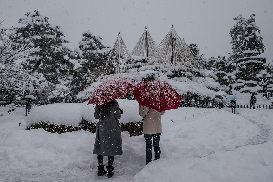 2017.12.17 雪景色の兼六園 12