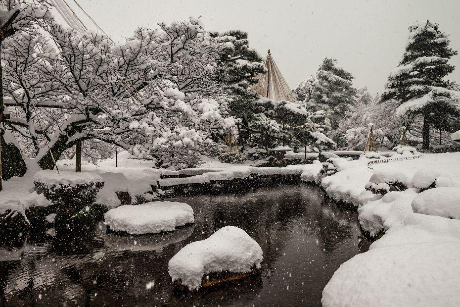 2017.12.17 雪景色の兼六園 10