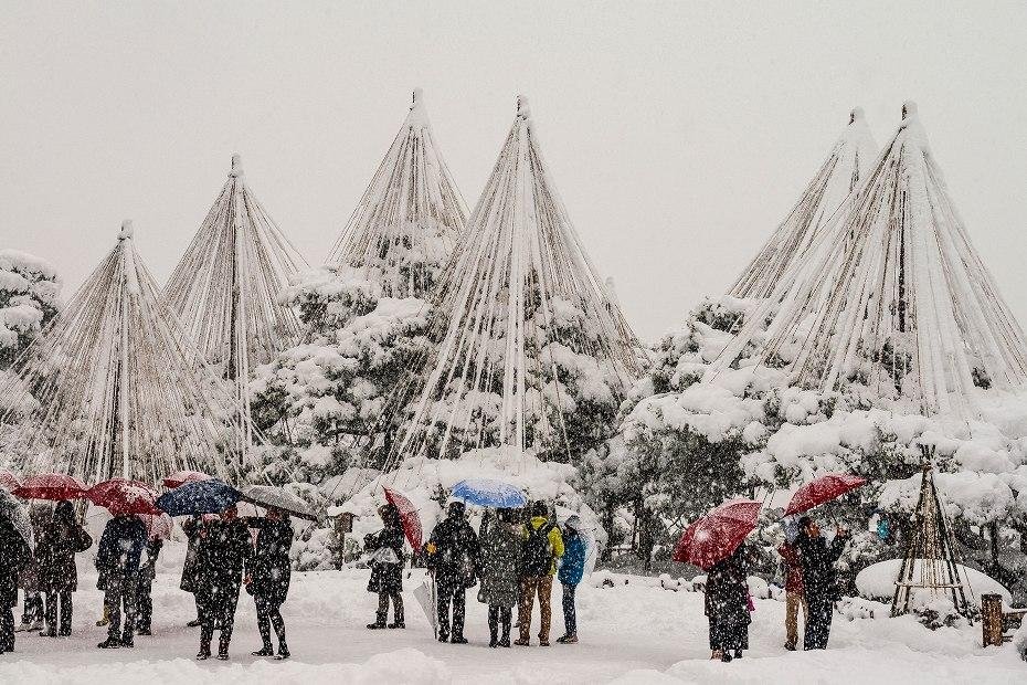 2017.12.17 雪景色の兼六園 11