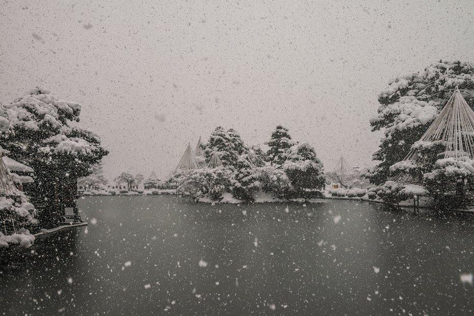 2017.12.17 雪景色の兼六園 4