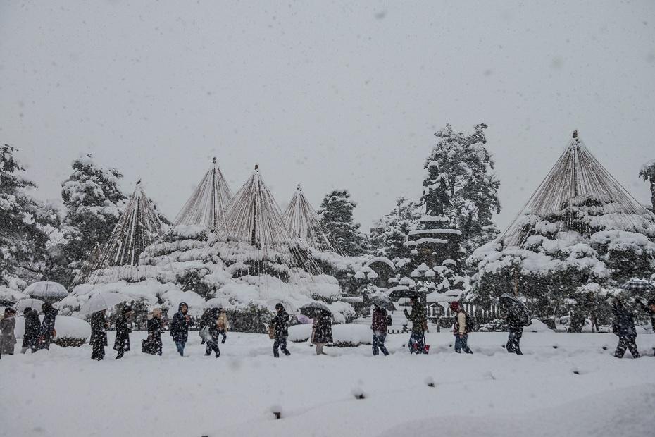 2017.12.17 雪景色の兼六園 6