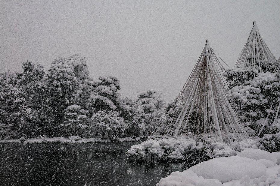 2017.12.17 雪景色の兼六園 3