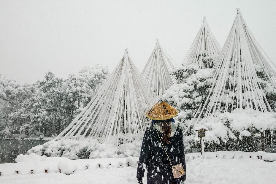 2017.12.17 雪景色の兼六園 2