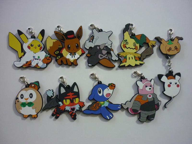 ラバーストラップコレクション Pokemon Halloween Time