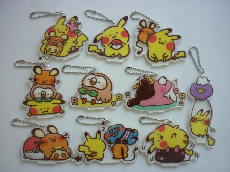 アクリルキーホルダーコレクション Pokemon Yurutto