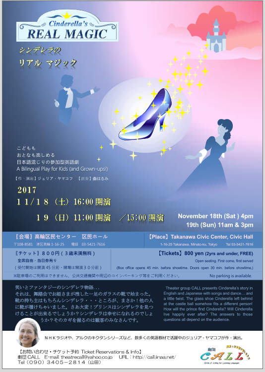 Cinderellas Real Magic チラシ