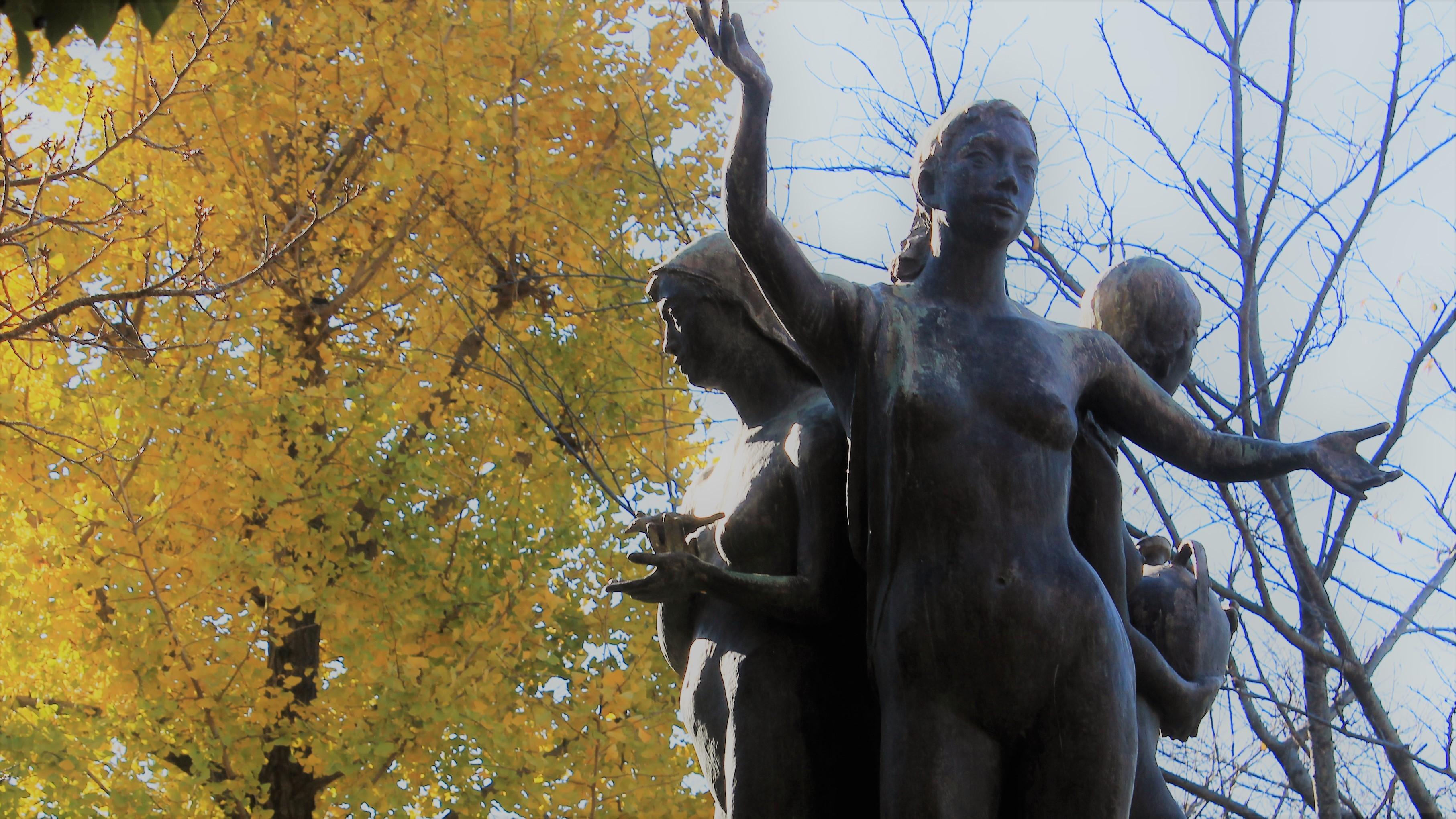 「四季の詩」 黄葉とともに
