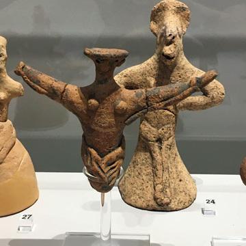 レシムノ考古学博物館展示物2