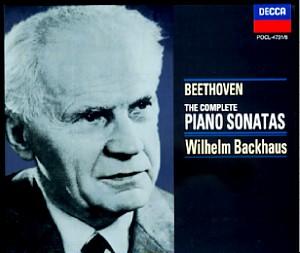 Backhaus Beethoven Complete Piano Sonatas