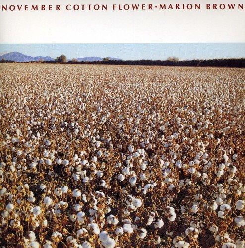 Marion Brown November Cotton Flower