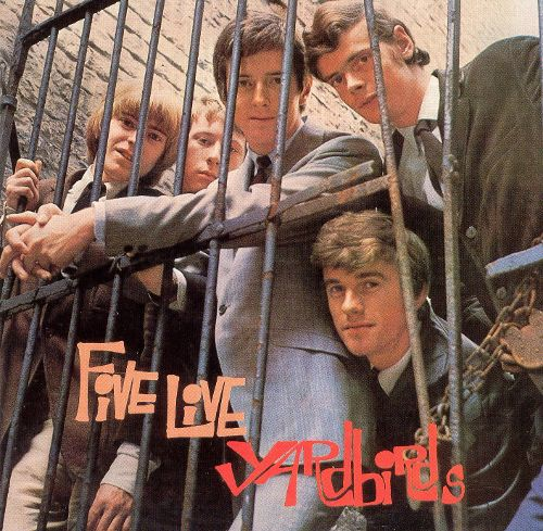 『Yardbirds Five Live Yardbirds』