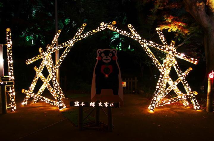 細川邸のライトアップ-730-11