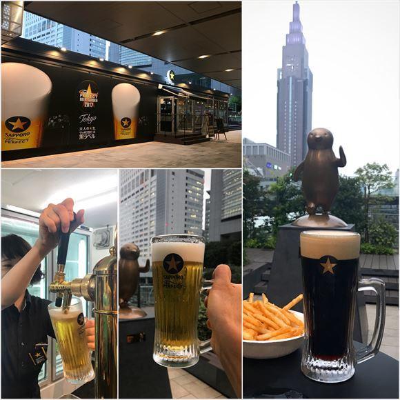 ゆうブログケロブログ新宿ビアガーデンと荒木町 (6)