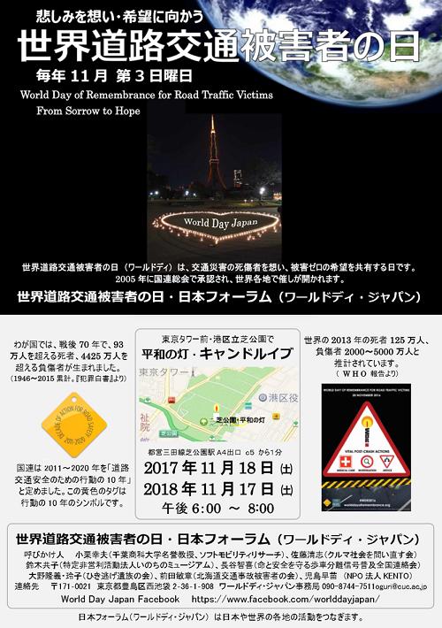 ワールドディ東京キャンドル