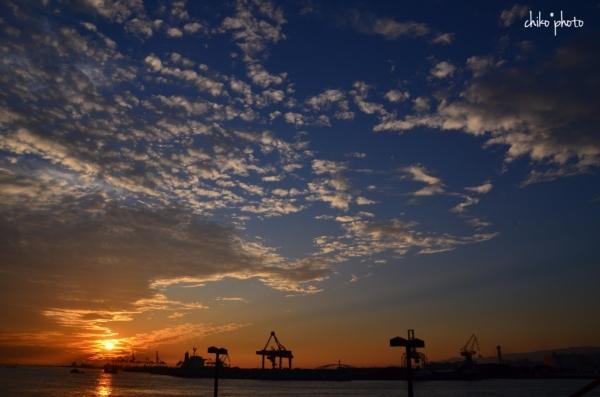 photo-745 港の夕暮れ1