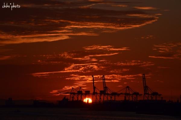photo-747 港の夕暮れ3-2