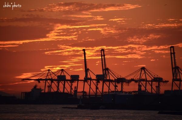 photo-748 港の夕暮れ4-1
