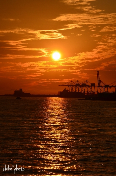 photo-746 港の夕暮れ2-1