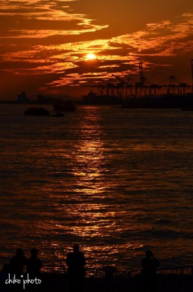 photo-746 港の夕暮れ2-2