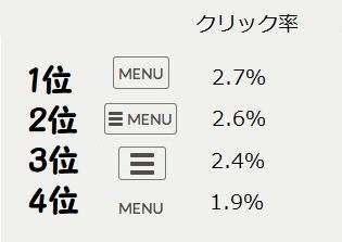 menuデザイン
