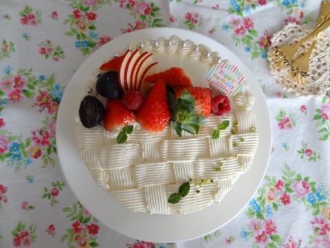10才ケーキ