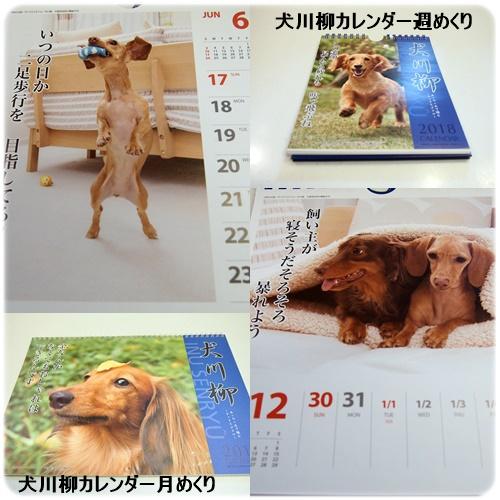 犬川柳カレンダー