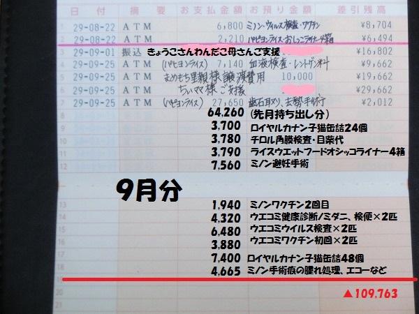 201709月収支報告 004
