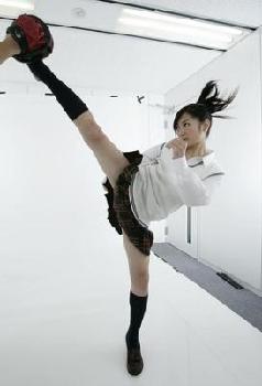 女子高生  格闘技  武田