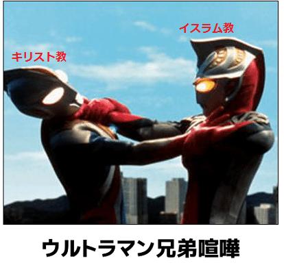 ウルトラマン  兄弟喧嘩
