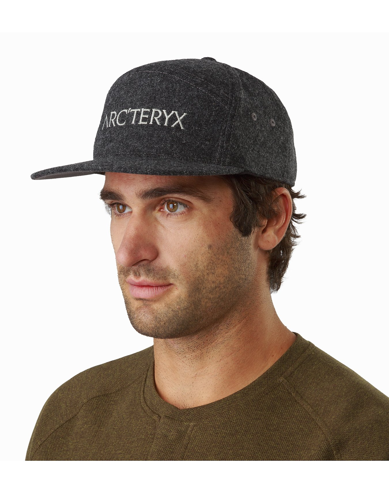 7-Panel-Wool-Ball-Cap-Heather-Grey-Front-View.jpg